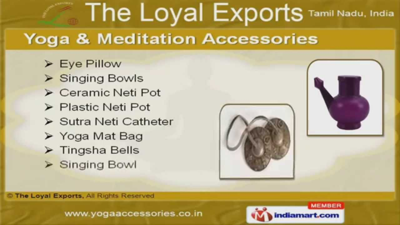 Yoga & Meditation Accessories by The Loyal Exports, Karur