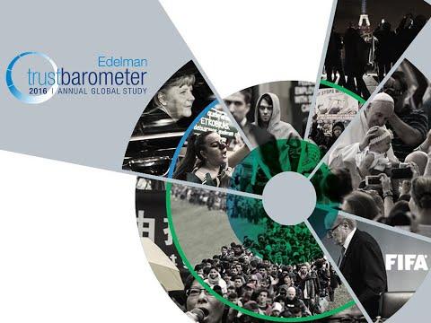 2016 Edelman TRUST BAROMETER