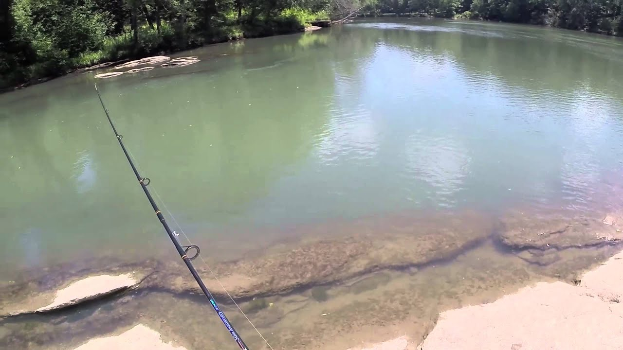 Fishing island ford park chattahoochee youtube for West point lake fishing report