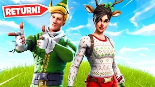 Even More Fortnite Christmas Skins RETURN..
