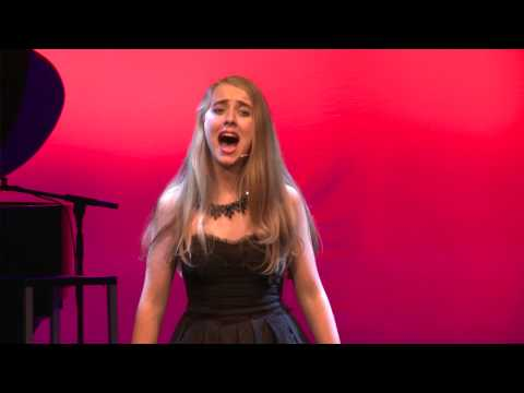 Chloe Finlay Performing 'Quiet' from Matilda the Musical