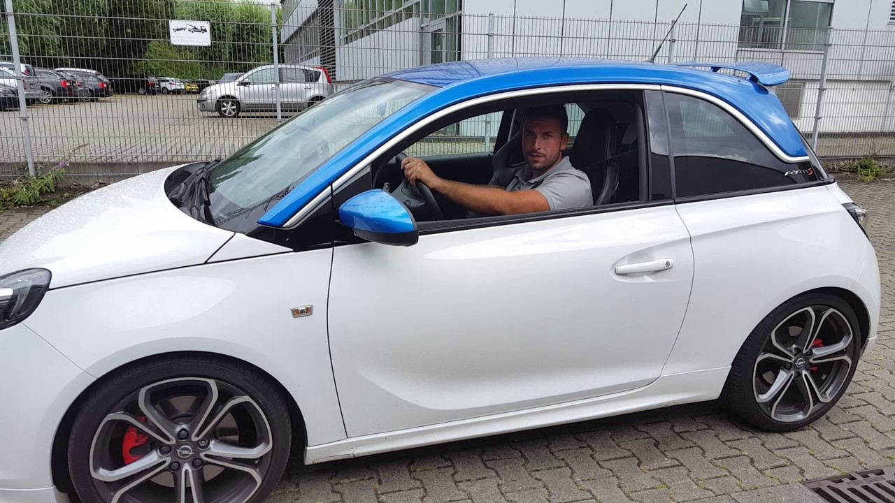Opel Adam S Modifizierte Auspuffanlage By Hdh Concepts Youtube