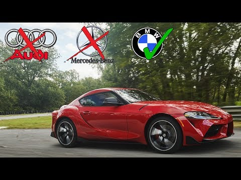 TOYOTA SAID NO TO AUDI & MERCEDES FOR NEW SUPRA PARTNERSHIP?!