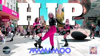 KPOP IN PUBLIC MAMAMOO - HIP Dance Cover ONE TAKE
