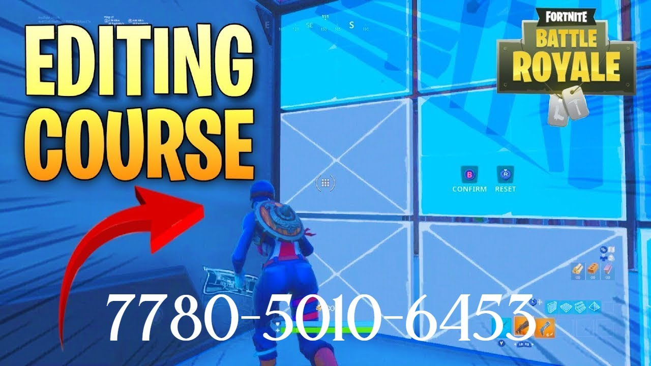 Youzfortnite Youz Edit Course Challenge 1v1 Station This simpler fortnite edit course gives you an opportunity to flex all of your various skills in one run: youz edit course challenge