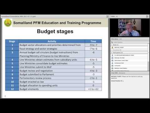 Somaliland PFM Education and Training Programme WB5