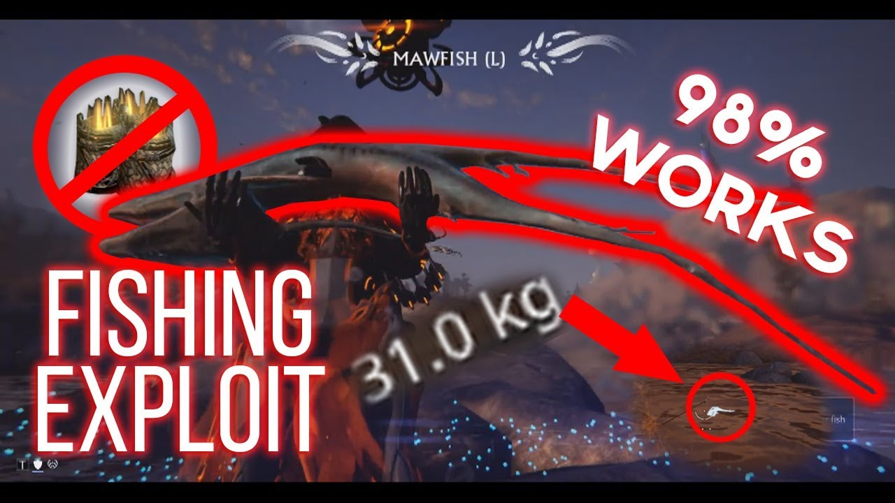 Warframe plains of eidolon easy fishing exploit no for How to fish in warframe