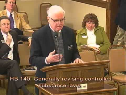 HB 140 January 14, 2013 Generally revising controlled substance laws