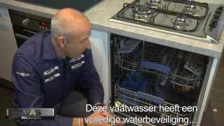 Indesit DIFP 68T1AEU 60 cm vaatwasser. Integreerbaar, 14 couverts, display en startuitstel!