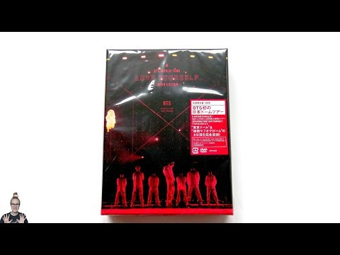 [ASMR] Unboxing BTS World Tour Love Yourself -Japan Edition- DVD (Limited Edition)