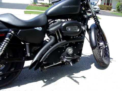 Harley Davidson Iron  Aftermarket Exhaust