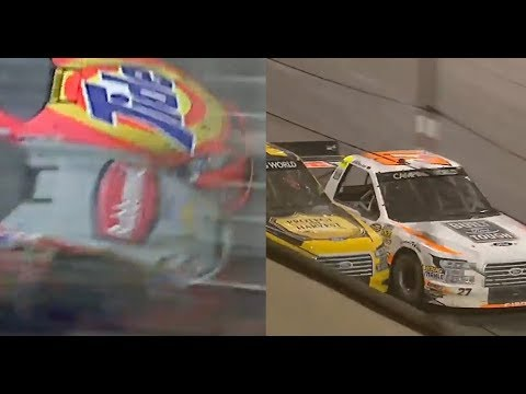 Mashup: Watch Eldora finish with classic Darlington