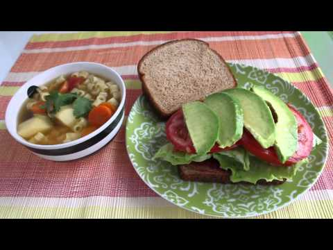Family Meal Ideas: What's for Dinner? (Vegetable Soup, Enchiladas, Potato Leek Soup, BLT Sandwiches)