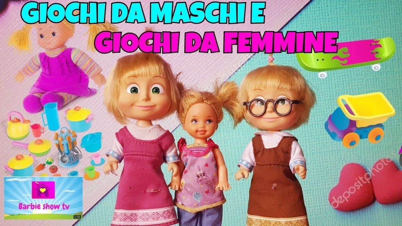 giocattoli di femmine