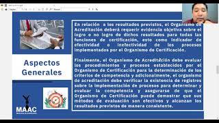 MD10:2013 Evaluación de la competencia de un OCSG de acuerdo con ISO/IEC 17021