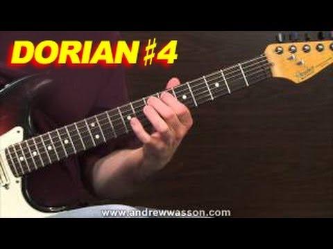 The Dorian #4 Scale