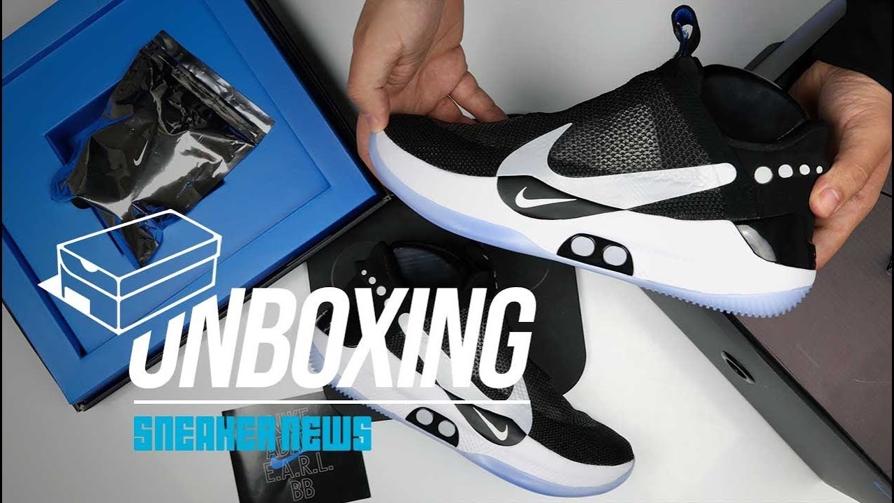 Nike Adapt BB Unboxing Futuristic Self Lacing Sneakers