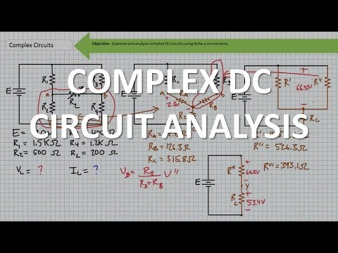 Complex DC Circuit Analysis