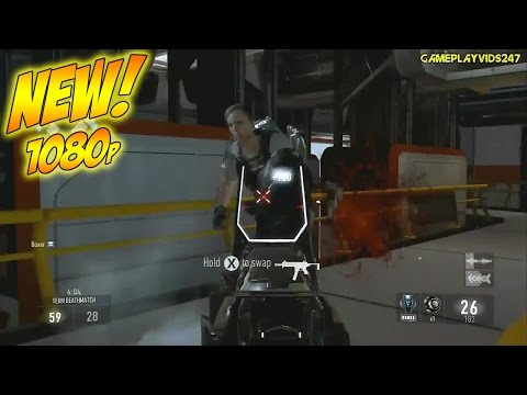 Call Of Duty Advanced Warfare Xbox 360 Gameplay: Ascend (Match 1 VS Bots) - Multiplayer 1080p