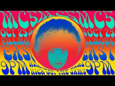 Photoshop Tutorial: How to Create a 1960s Psychedelic Poster (Design #1)