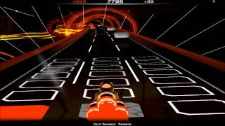 Audiosurf (demo):  Pandemic [Devin Townsend Project]