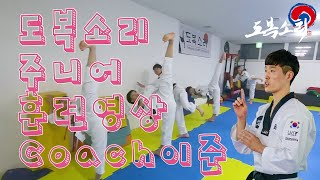 Gambar cover Doboksori Junior Training Video - Coach : Jun.LEE