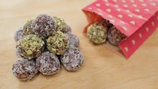 Date Truffles Recipe - DIY Edible Gift - Pai's Kitchen!