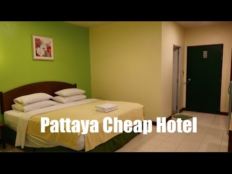 Pattaya Hotel – Cheap, but is it Cheerful…???