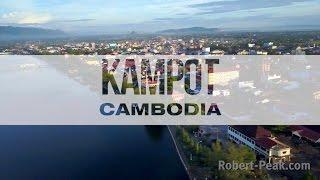 Kampot Cambodia (MAVIC PRO FOOTAGE)