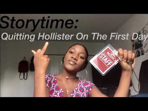 Storytime: Quitting My Hollister Job On The FIRST DAY😳