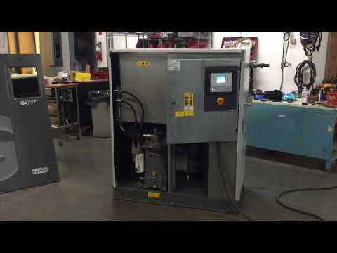 2011 Atlas Copco 15hp GA11 plusRotary Screw Air Compressor Only 48,974 hours