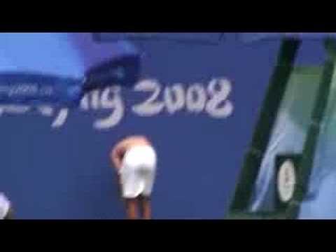 Novak practices in Beijing