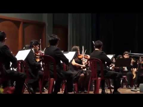 Concierto de la Orquesta Sinfónica del Conservatorio Nacional de Música en Lima Norte