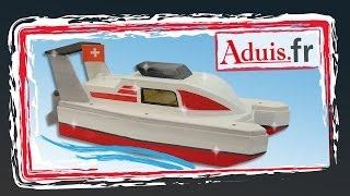 Le bateau de course