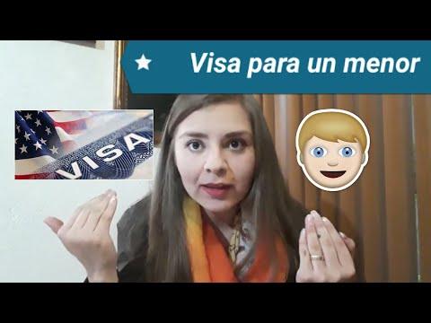 Cómo obtener la visa para un menor de edad fácil