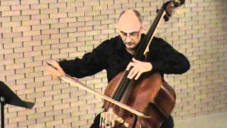 Catalin Rotaru, double bass - Praeludium and Allegro by Fritz Kreisler