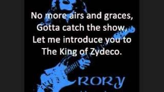 Rory Gallagher - The King of Zydeco LYRICS.wmv