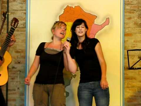 Argentina, Don Silvano Farm, Who Are These 2 Beautiful Tourist Girls Singing? 2009-01-08