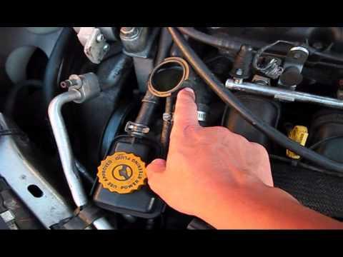 Dodge Neon Radiator Cap Youtube