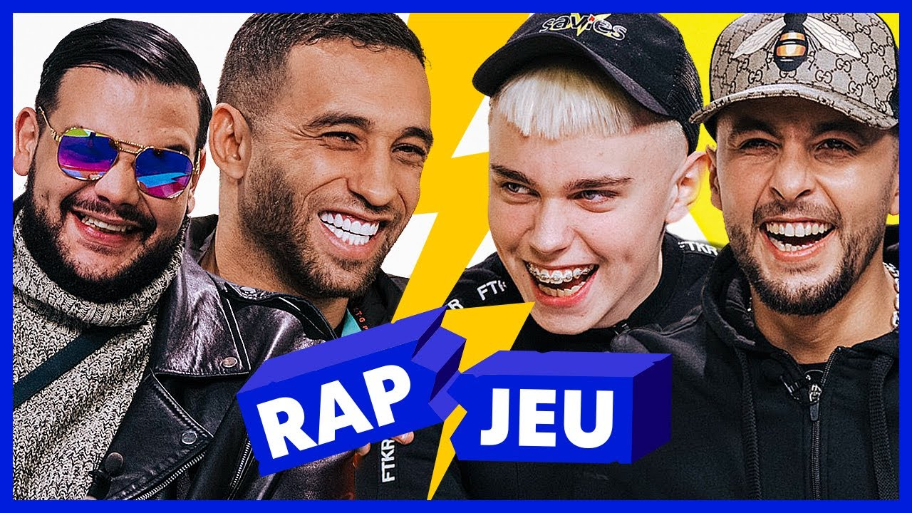 Mister You & Sadek vs Kanoé & Hayce Lemsi - Red Bull Rap Jeu #40