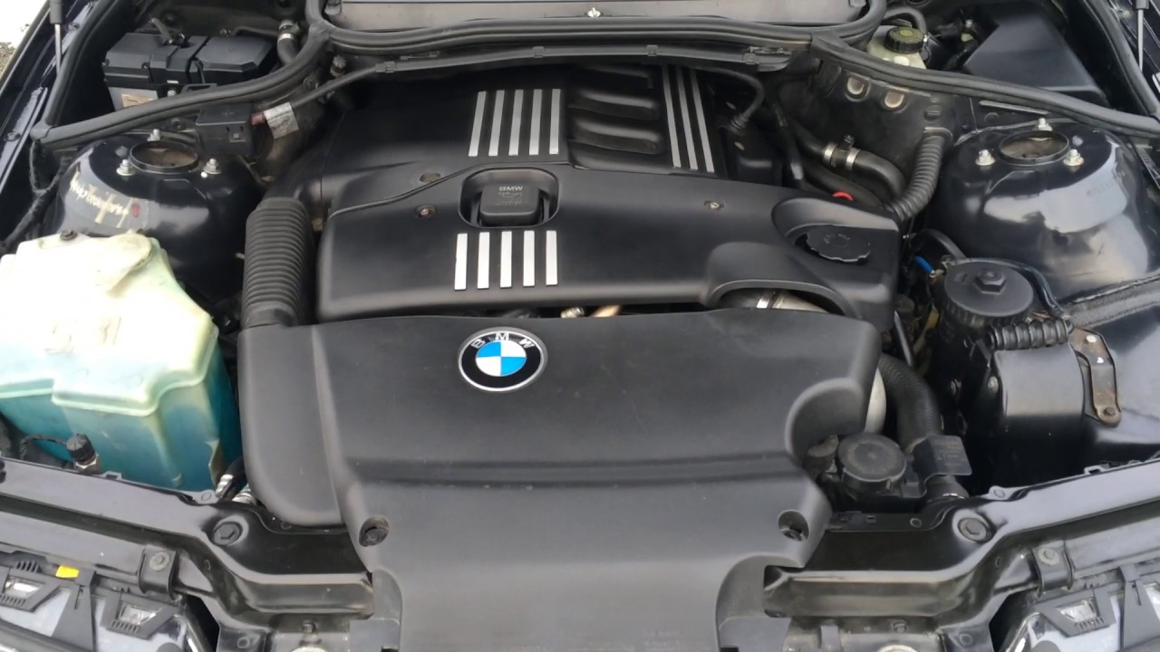 bmw 320d e46 motor youtube