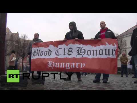 Hungary: Nationalists commemorate 'Day of Honour' in Budapest