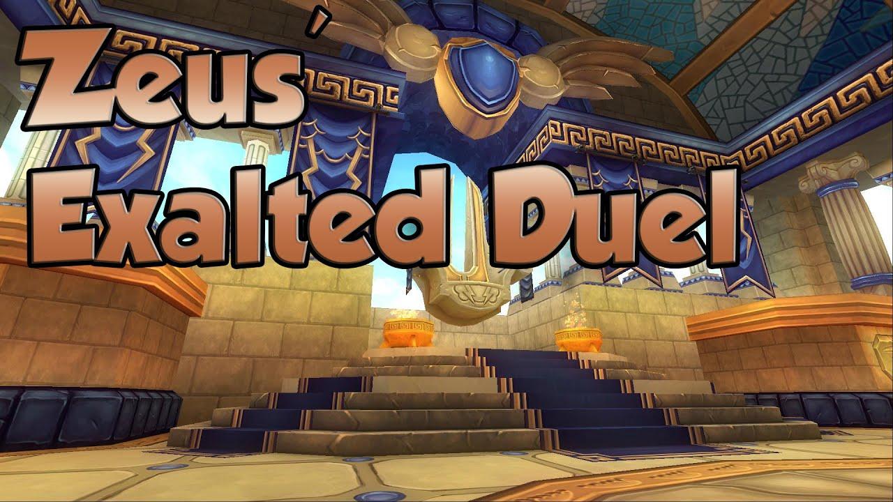 Wizard101: Zeus' Exalted Duel