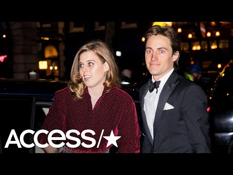 Princess Beatrice Makes Her Public Debut With Boyfriend Edoardo Mapelli Mozzi