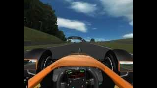 NetKar PRO gameplay - GT Driving Force Wheel Logitech - Formula 1 gamelay