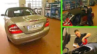 Mercedes Benz CLK | Water Leak In a Soft top