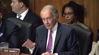 Markey Questions EPA Chemical Safety Nominee Michael Dourson on Lowering Safety Standards