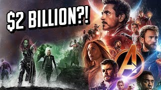 Will Avengers: Infinity War Break $2 Billion? - Charting with Dan!
