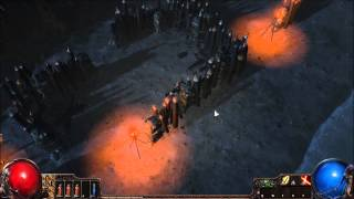 Hardcore Path of Exile!  So, we may have nearly died...  Already. p1