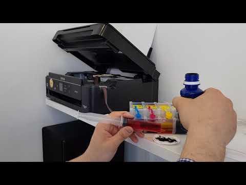 Заправка принтера Epson XP 342